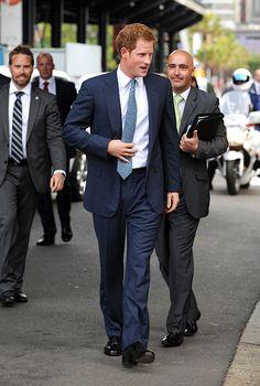 10-4-13.   Prince Harry attended the International Fleet Review in Australia - hellomagazine.com
