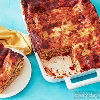 Farmers' Market Lasagna from Rachael Ray - Can't wait to try this!