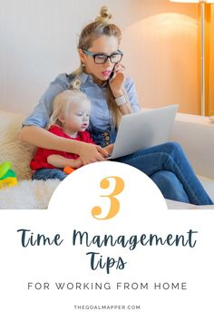 Working from home and parenting from home is hard! Learn three time management tips for working from home so you can balance work and life. Time Management Techniques, Time Management Tools, Effective Time Management, Time Management Strategies, Books For Self Improvement, How To Stop Procrastinating, Goal Planning, Work From Home Tips, Online Entrepreneur