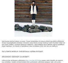 """Arctips-saappaat valmistetaan käsityönä Töysän kenkätehtaassa. Communiké auttaa tekemään Arctipseista """"Suomen Uggsit"""". Juttu Tarja's Snowland -blogissa 30.10.2013, http://tarja-snowland.blogspot.fi/"""