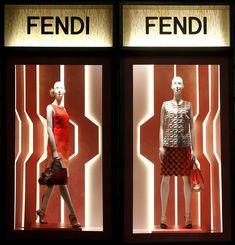 Fendi Spring Summer 2014 windows New York Paris Milan London 04 Fendi Spring/Summer 2014 windows, New York, Paris, Milan, London