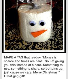 Great gag gift!!! I can think of a few  who might need this!