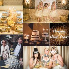 New Year's Wedding Inspiration Board