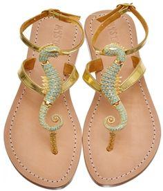 Large Sea Horse Sandals  Coolest Sandals Ev-uh