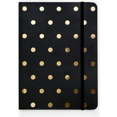 SUGAR PAPER Polka-dot journal ($29) ❤ liked on Polyvore featuring home, home decor, stationery, accessories, books, filler, backgrounds and extra