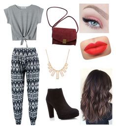 """""""Sin título #45"""" by aly-zet on Polyvore featuring Belleza, Boohoo, Stuart Weitzman, Zadig & Voltaire y Rivka Friedman"""