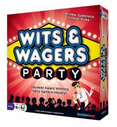 """North Star Games on Craven Games, """"North Star Games: Wits and Wagers Party, Say Anything, and Crappy Birthday"""" #NorthStarGames #WitsandWagers"""