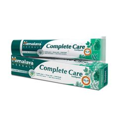 Himalaya's Complete Care Toothpaste is a refreshing herbal toothpaste for complete dental care that tightens gums, checks swelling, gum bleeding, and prevents toothache and decay and controls bad breath. Buy from Official Himalaya Wellness Website. Organic Toothpaste, Toothpaste For Sensitive Teeth, Herbal Toothpaste, Dental Hygiene, Dental Care, Bad Room Ideas, Shops, Teeth Care, Natural Herbs