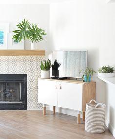 Ikea Sektion Hack Tv Console Diy Home Improvement