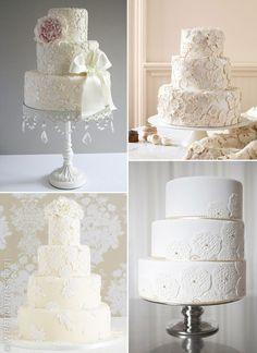 Toque vintage: decora tu boda con encaje www.webnovias.com/blog