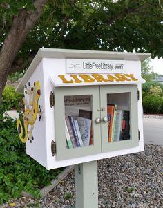Terry Lamberte. Albuquerque, NM. Forrest and Santos Netherwood Park's Little Free Library!