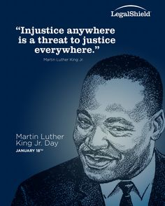 """Injustice anywhere is a threat to justice everywhere"" Martin Luther King Jr"