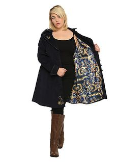 Doctor Who TARDIS Coat Plus SizeDoctor Who TARDIS Coat Plus Size,