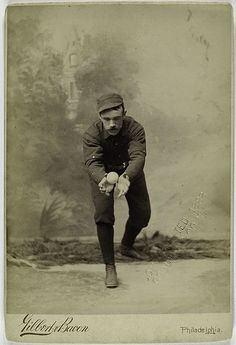 Deacon McGuire, Philadelphia Quakers by New York Public Library (baseball player photo)