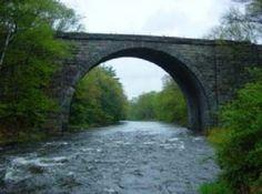Cheshire Railroad Stone Arch Bridge - South Keene, NH