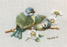 Bluebirds & Daisies