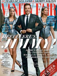 Alessandra Ambrosio and Doutzen Kroes for Vanity Fair - February 2014