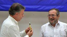 Presidente Colombia anuncia fecha firma acuerdo paz Gobierno y las FARC