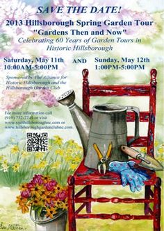 Come to the garden tour!