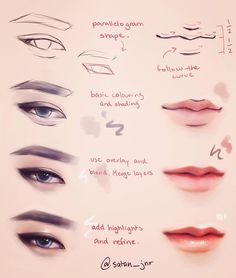 """5,978 Likes, 25 Comments - 妮娜 (@satan_jnr) on Instagram: """"Zitao's iconic cat eyes  I got a redbubble page! (Link in bio) I'm still in the process of…"""""""