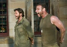Hugh Jackman and Liev Schreiber YES
