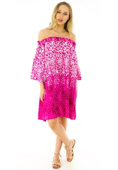 Mai Tai Raspberry Ripple Dress