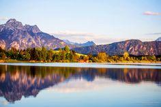 Зеркальные воды озера Хопфен-ам-Зее / Репортажи / Моя Планета