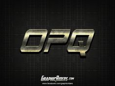 Action style – OPQ (free photoshop layer style, text effect, free psd file) #graphicriders