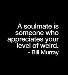 Soulmate And Love Quotes: consider this bill murray (Relationship) Great Quotes, Quotes To Live By, Inspirational Quotes, Weird Love Quotes, Words Quotes, Me Quotes, Sayings, Status Quotes, The Words