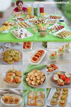 Appetizer Buffet, Party Food Buffet, Appetizer Recipes, Amazing Food Decoration, Catering, Mini Foods, Snacks, Antipasto, Holiday Desserts