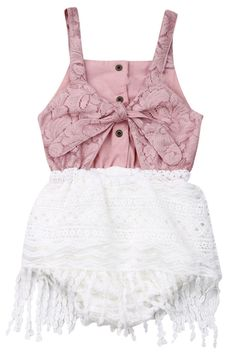 5f453d726 SALE 45% OFF + FREE SHIPPING! SHOP Our Boho Lace Romper for Baby Girls