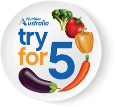 Discover new ways to add veg to your day! Try For 5 during National Nutrition Week, October Chicken Laksa, Bean Chilli, Bircher Muesli, Creamy Chicken, Dietitian, Fresh Fruit, Nutrition Diet, Australia, Dishes