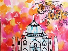 This Taj Mahal art project is a great way to introduce children to ink transfer using bleeding tissue paper. This technique is not only fun, but results is stunning color combinations as the inks blend together. Materials: Bleeding Tissue Paper Taj Mahal Template Water Color Pencil or Sharpie White Oil Pastel Suggested Resources for a …