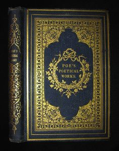 1859 Rare Book - The Poetical Works of EDGAR ALLAN POE with A Notice o – MFLIBRA - Antique Books