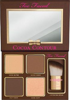 Too Faced Cocoa Contour Chiseled to Perfection Color:Original - April 13 2019 at Makeup Tutorial Eyeliner, Contour Makeup, Contouring And Highlighting, Eyeliner Ideas, Eyeliner Styles, Face Contouring, Perfect Eyeliner, How To Apply Eyeliner, Makeup Tips