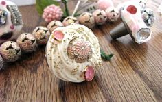 HomeMadeville: Craft and DIY Tutorials, Party Decor Ideas & How To Videos: Decoden Knobs with Mod Podge Collage Clay
