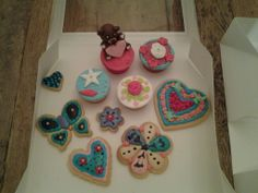 Workshop cupcakes en koekjes versieren