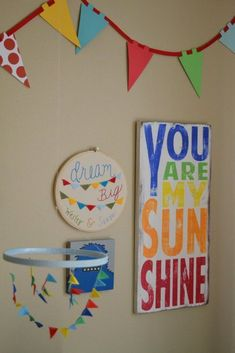 """I have sang """"You are my sunshine"""" to madelenn since she was born. I'd LOVE to paint this for her new room. You know something she can keep for as long as she wants."""