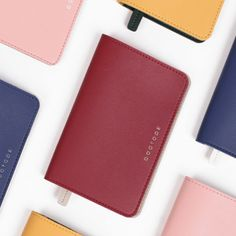 Duotone travel passport case with RFID blocking film After The Rain. The Duotone passport cover is a well made and beautiful passport holder.