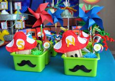 Cute Super Mario Bros favors