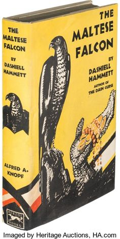 Books:Mystery & Detective Fiction, Dashiell Hammett. The Maltese Falcon. New York: Alfred A.Knopf, 1930. First edition...