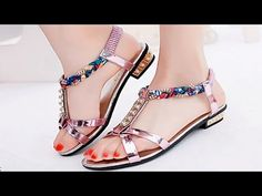 b97019fb4369 Latest Stylish Flat Shoes Fashion Design for Women Girls - Fashion   Style