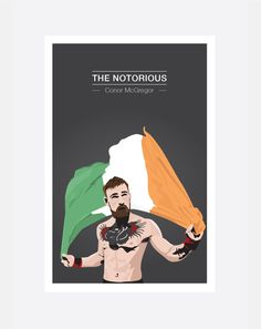 Conor McGregor Hand drawn, vector print. Notorious Conor Mcgregor, Hand Drawn, How To Draw Hands, Celebrity, Illustrations, Drawings, Artwork, Movies, Movie Posters