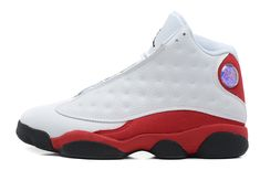 fb7daadc6ae28 Air Jordan 13 Retro Mens White Black-Varsity Red For Sale Online Air Jordan