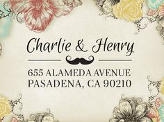 Return Address Stamp, Custom Address Label, Wedding Gift, Christmas Holiday Present, Custom Rubber Stamp, Self-inking, Self Inking Stamper 30  Return