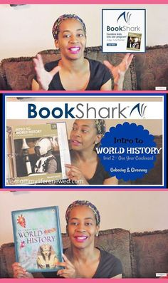 Bookshark Unboxing of World History, One Year Condensed • secular, literature-based, 4-day homeschool curriculum