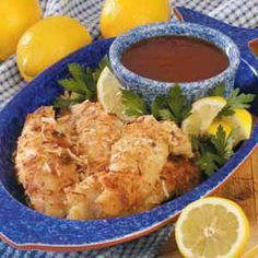 Coconut-Crusted Perch Recipe