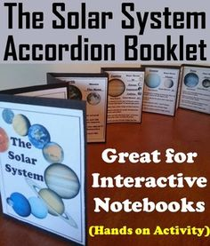This booklet is a fun hands on activity for students to use in their interactive notebooks. The students will need to research each planet to discover fun facts about each planet in the Solar System. A completed Solar System/ Planets accordion booklet is also included as an answer key or for a modification for students with special education needs.