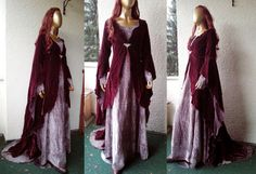 Elven gown Rivendell elf The Hobbit costume by Volto-Nero.com on Etsy, $389.00