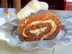Welcome Home: ♥ Autumn Pumpkin Roll